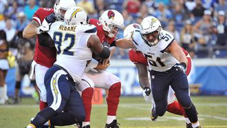 Cardinals offense struggles in loss to Chargers