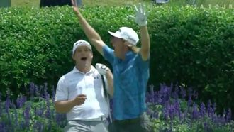 PGA Tour player goes ballistic after hole-in-one on TPC