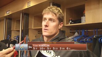 Marlins' Tom Koehler: 'All we can do is keep playing'