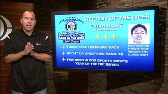 Recruit of the Week: DB Elijah Hicks of La Mirada