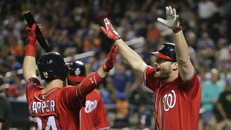 Daniel Murphy belts another HR vs. old team as Nats beat Mets