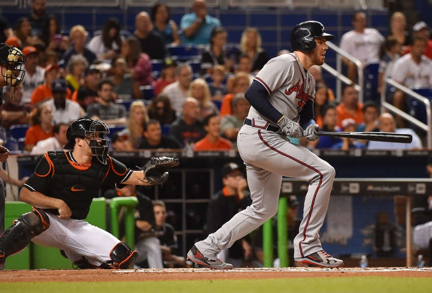9562152-freddie-freeman-mlb-atlanta-braves-miami-marlins