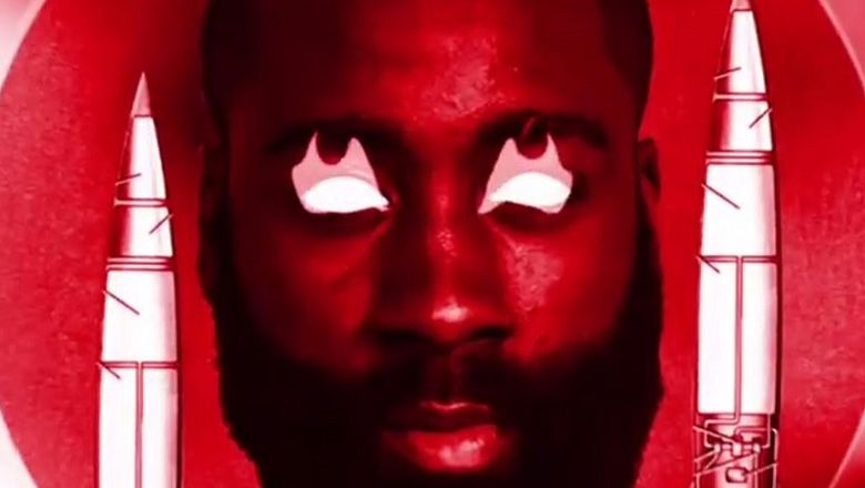 Adidas unveils James Harden's new signature logo with a truly bizarre video