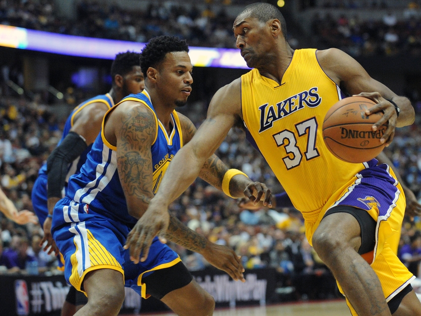 Metta-world-peace-nba-preseason-golden-state-warriors-los-angeles-lakers