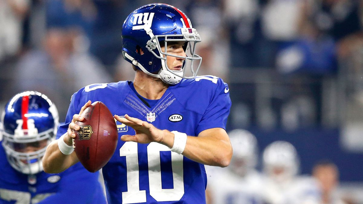eli manning blames himself for loss to cowboys fox sports. Black Bedroom Furniture Sets. Home Design Ideas