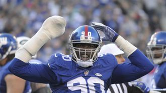 Jason-Pierre Paul says his hand is fine and he