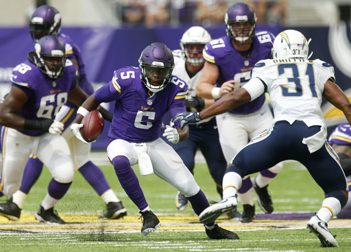 Vikings Qb Bridgewater Vows To Attack Rehab From Knee