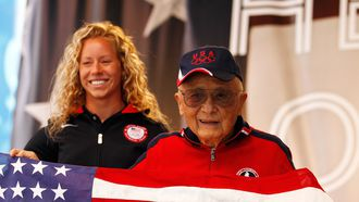Two-time Olympic diving gold medalist Sammy Lee dies at age 96