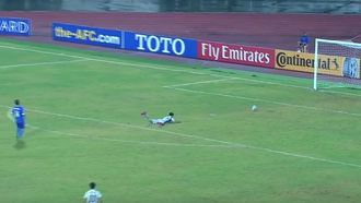 Goalkeeper scores suspicious goal from his own box in AFC U-16 championship
